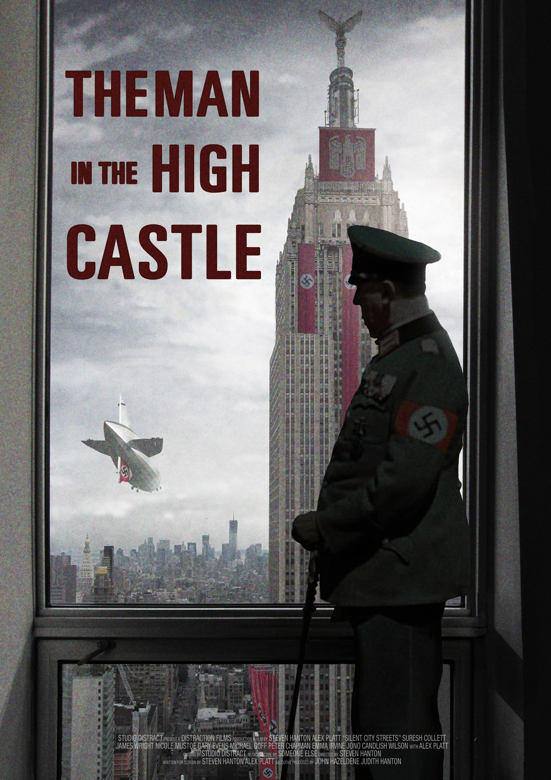 Quick mock up for a poster idea: View of 70's Nazi occupied New York