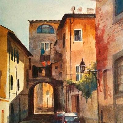 Paolo giandoso watercolor 01