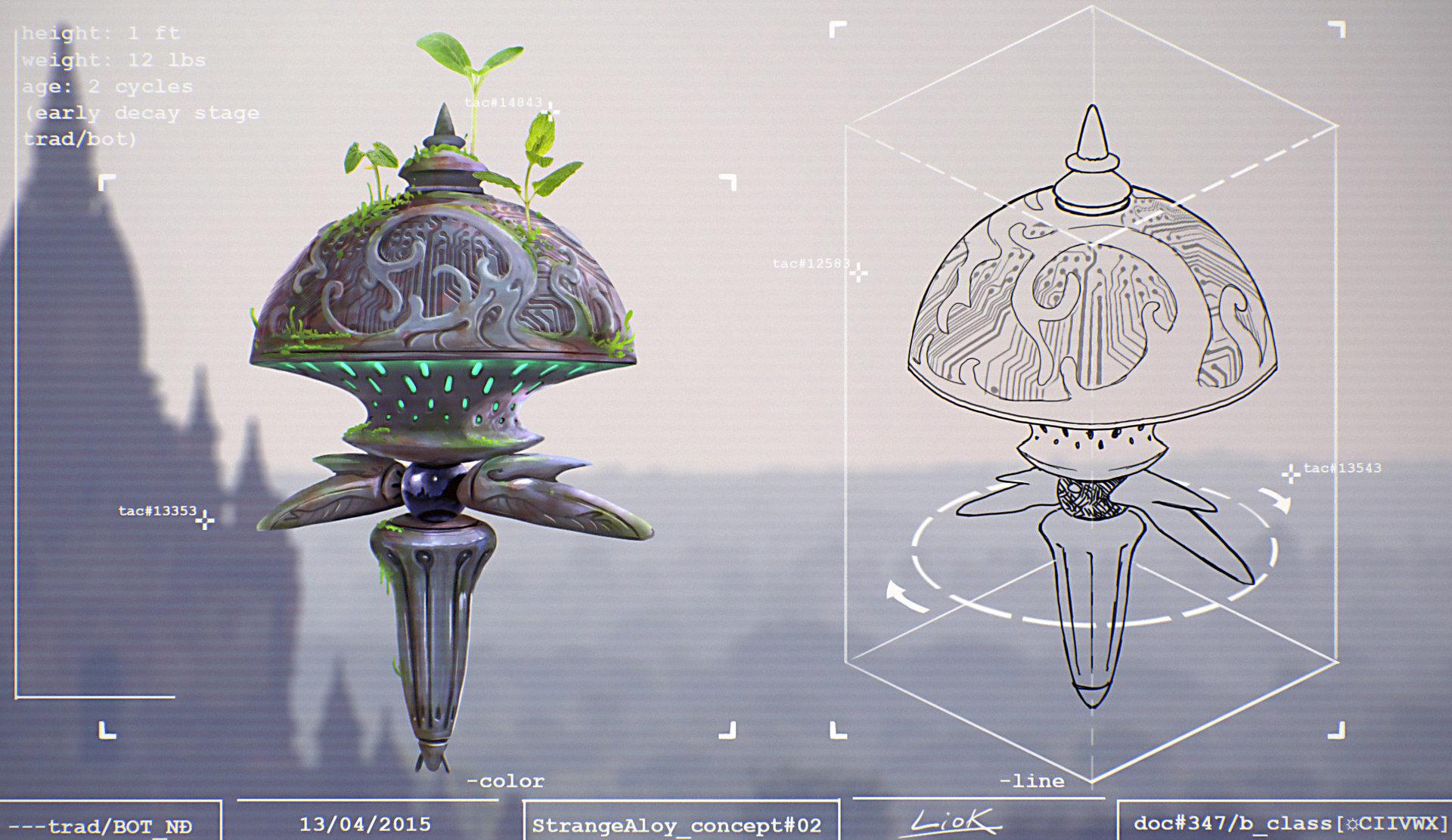 Loic liok bramoulle etrange alliage concept 02
