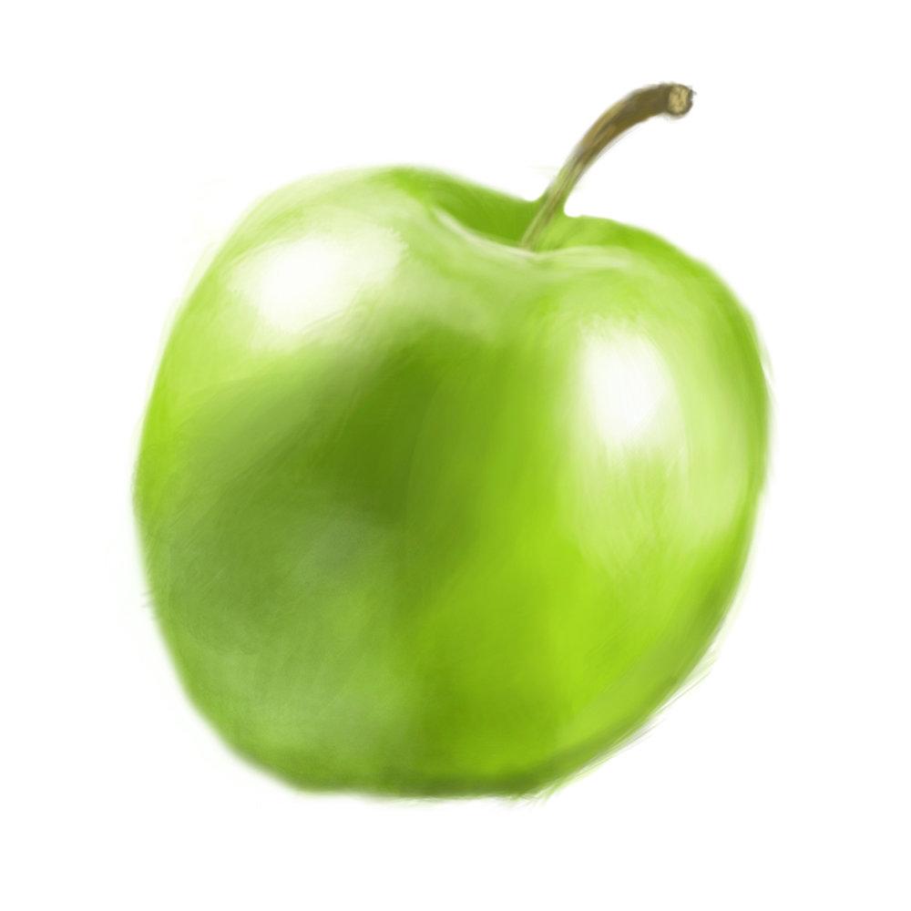 Palo piktor apple color study