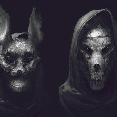 Denys tsiperko masks 2