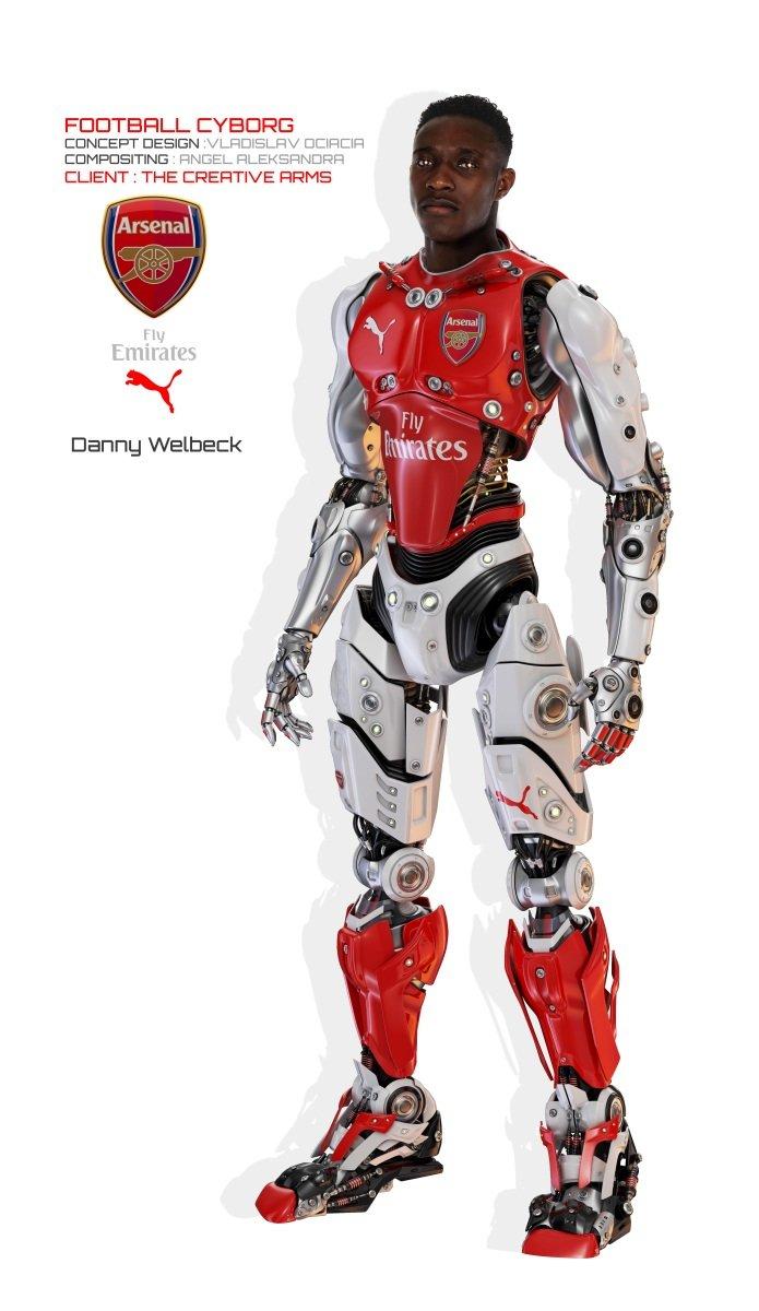 Vladislav ociacia football robot danny welbeck 2