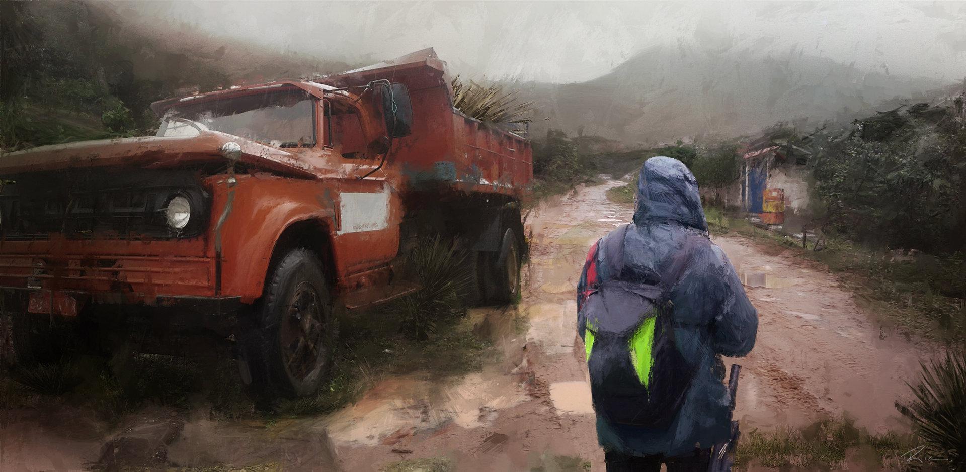 Ricardo guimaraes mud road