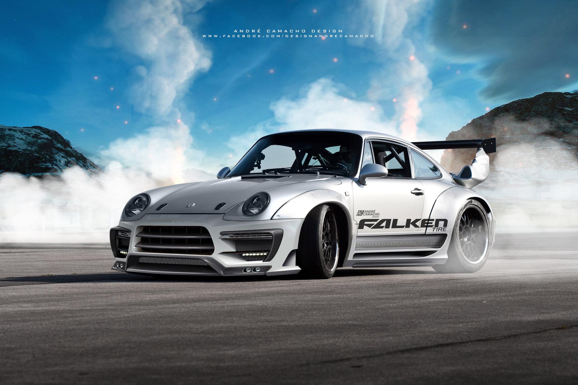 Andre Camacho Design Porsche 993 Gt2 Turbo