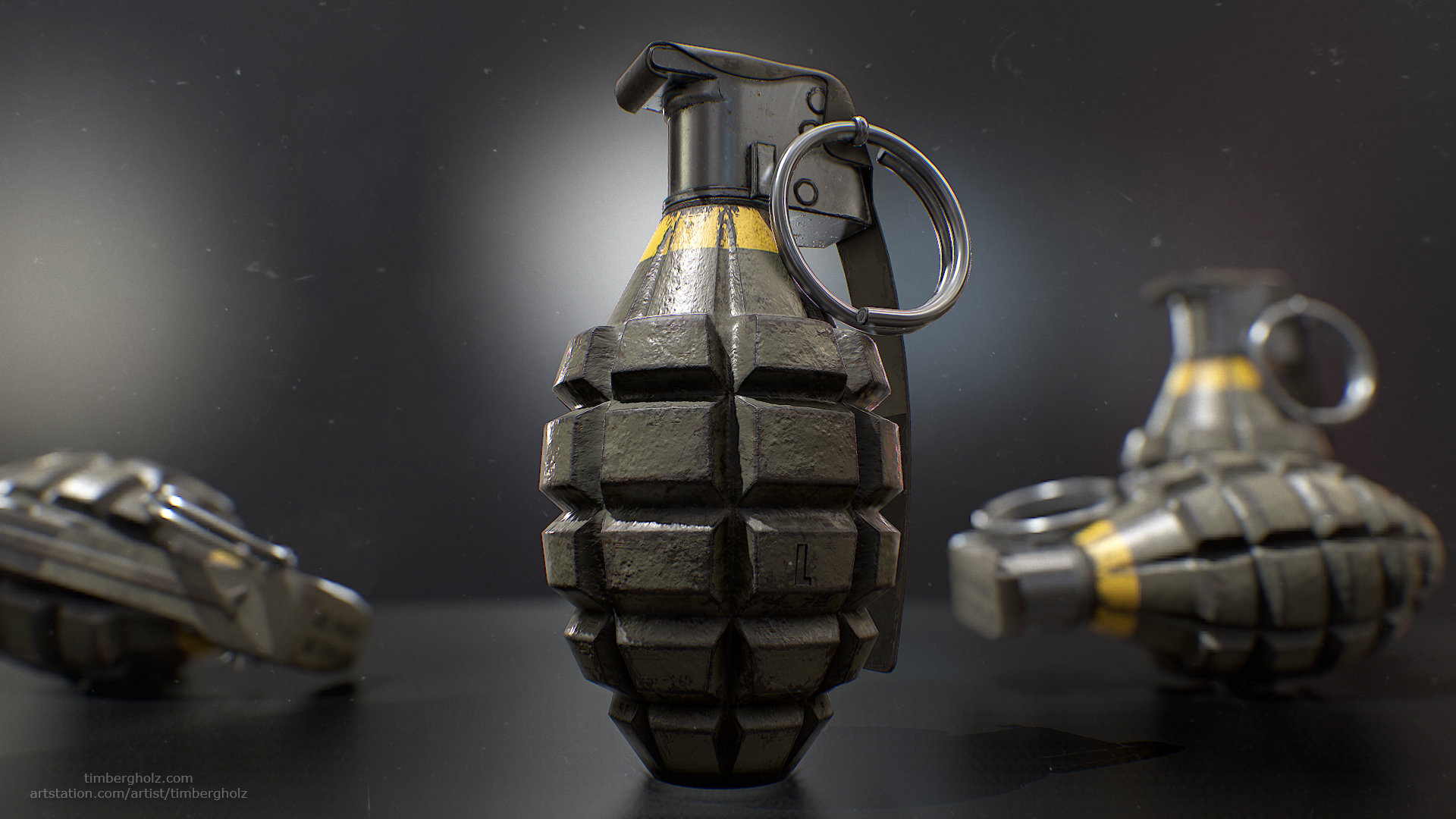 Tim bergholz mk2 grenade render 1