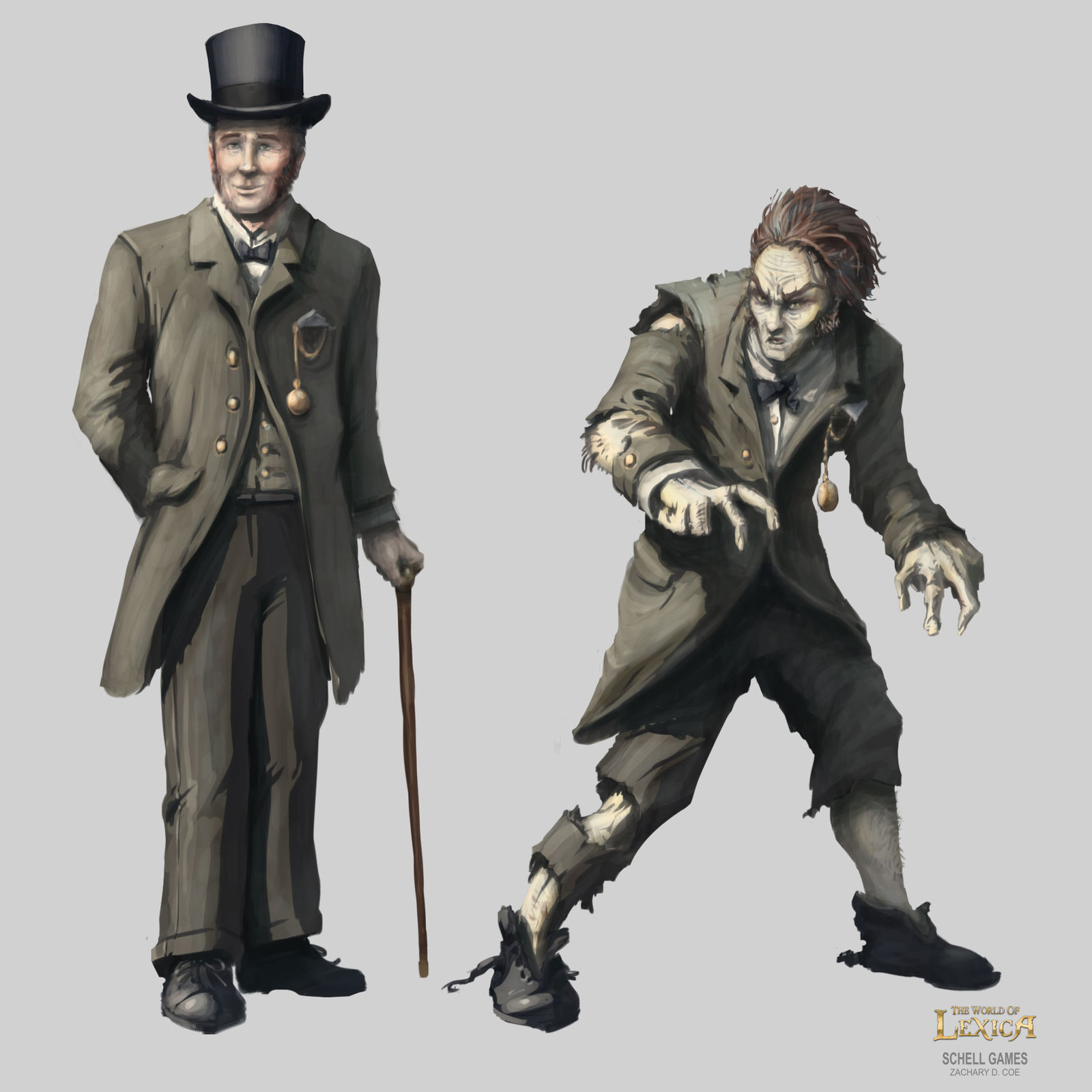 DR. JEKYLL & MR. HYDE by Zachary D. Coe