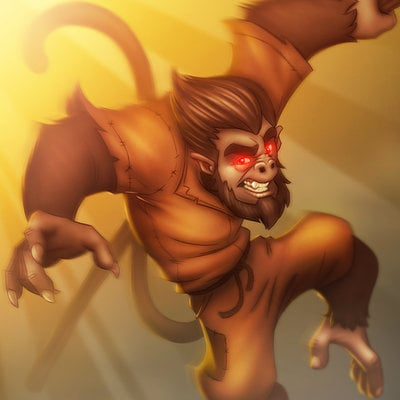 Jose rodriguez monkey king jrs3d