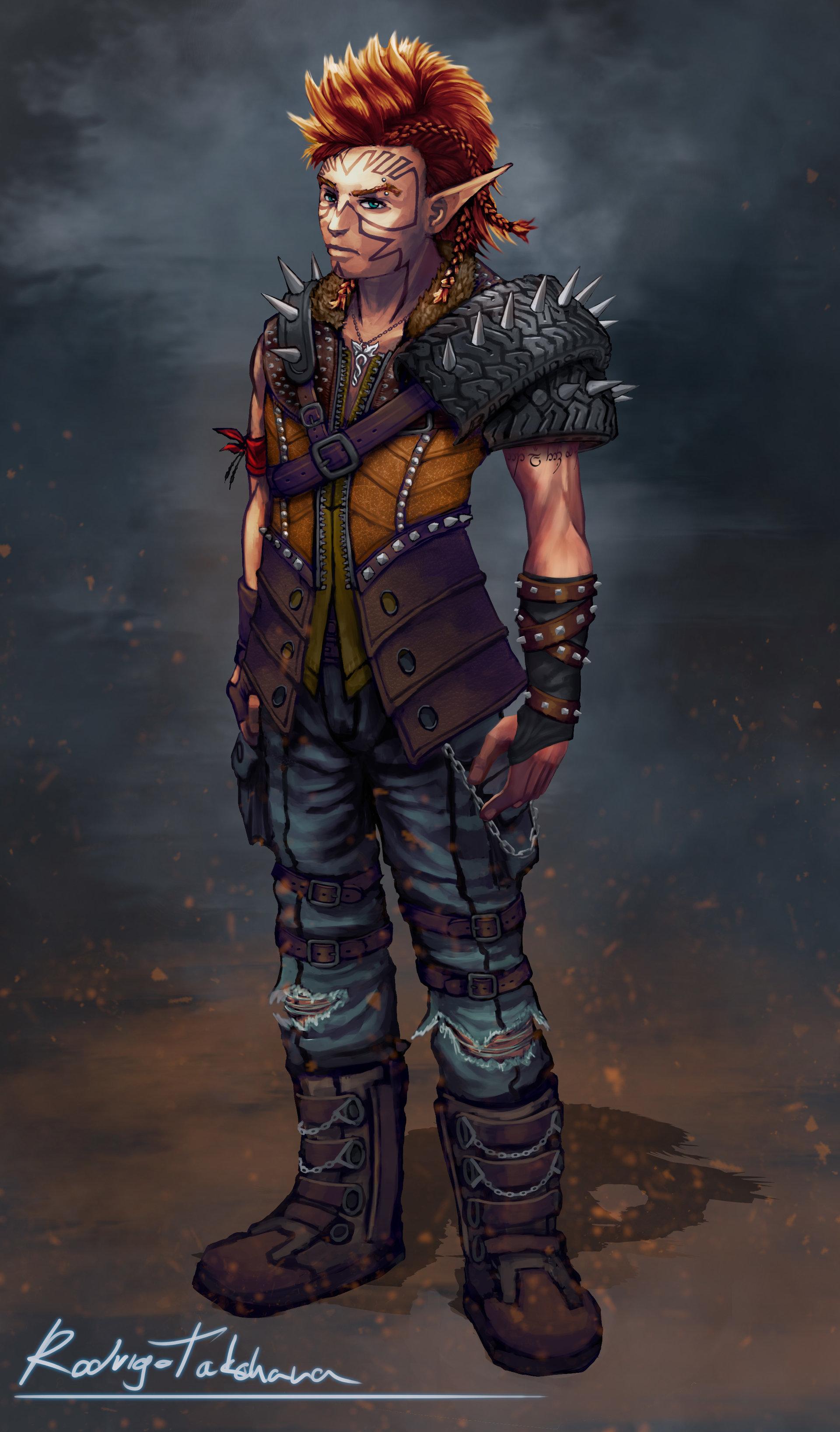 Rodrigo da costa takehara elf thug