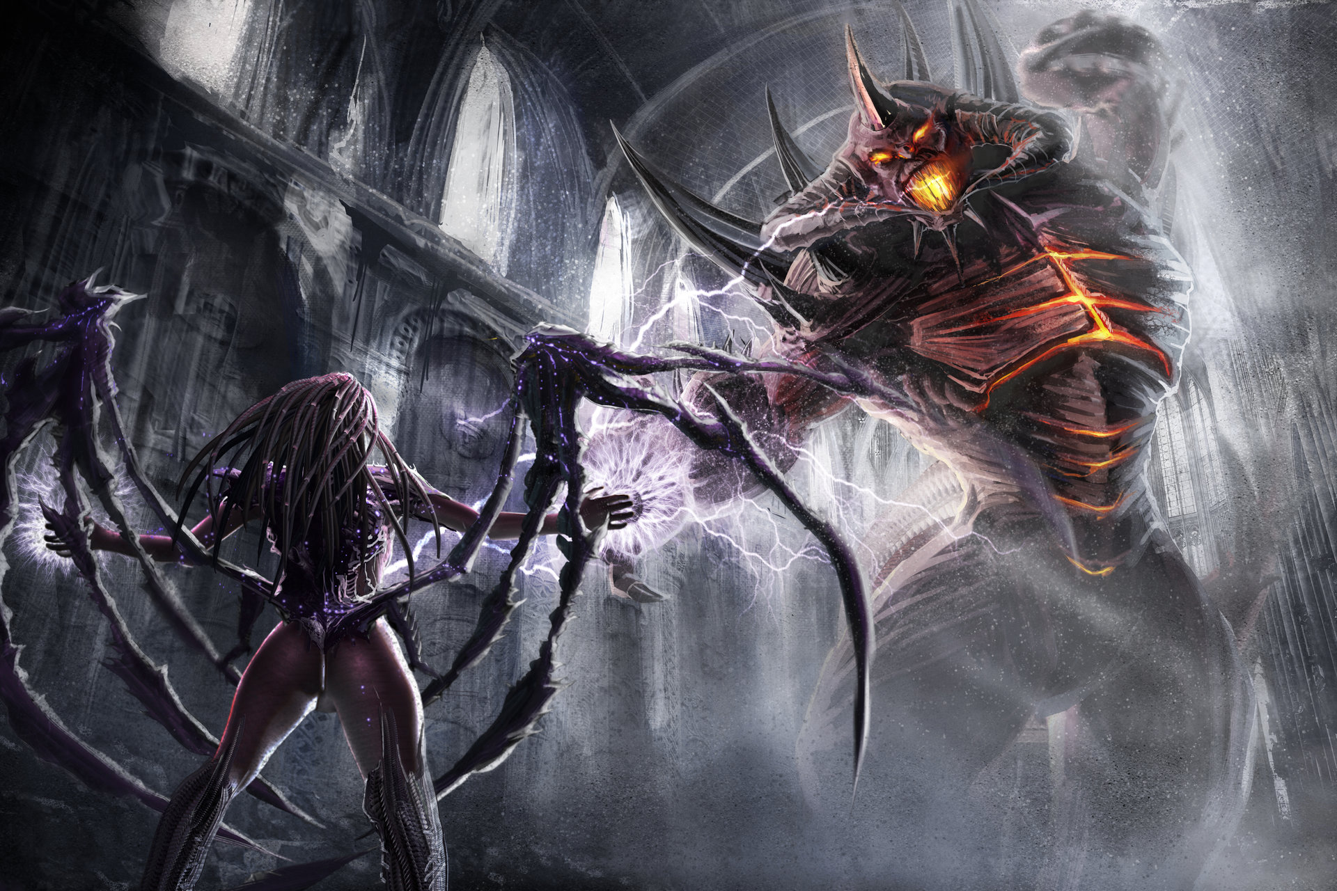 Nils nihils heroes of the storm queen of blades vs lord of terror