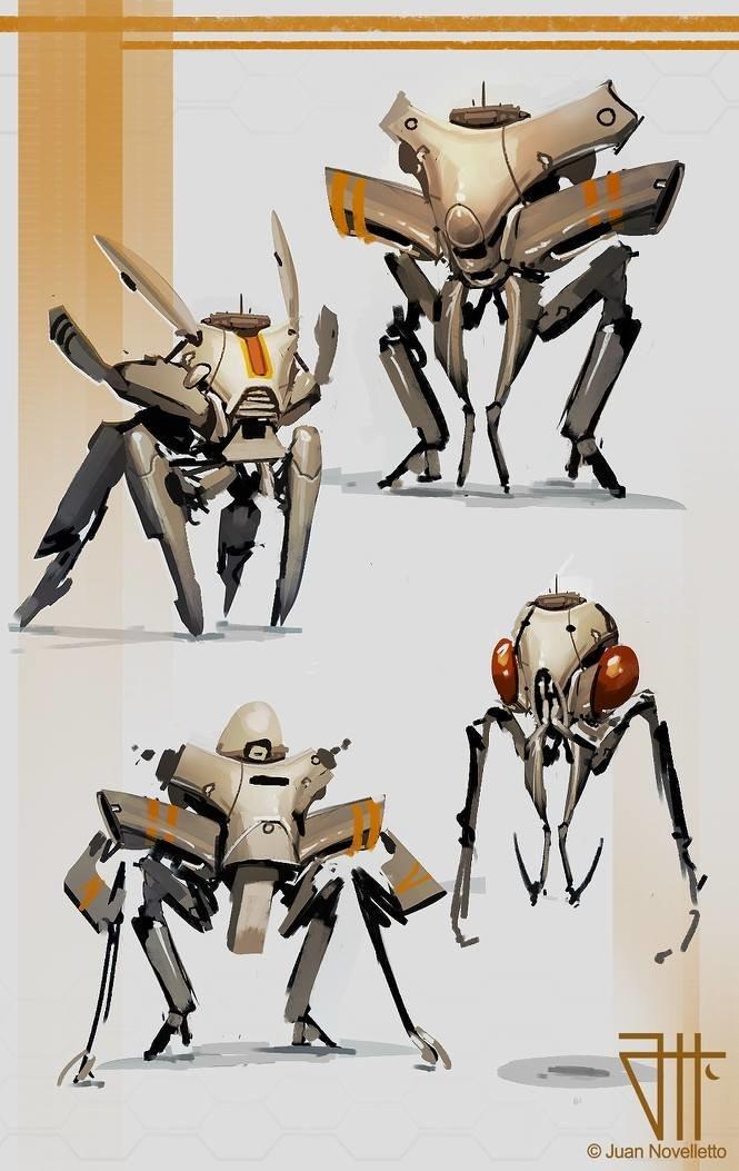 Robots sketches