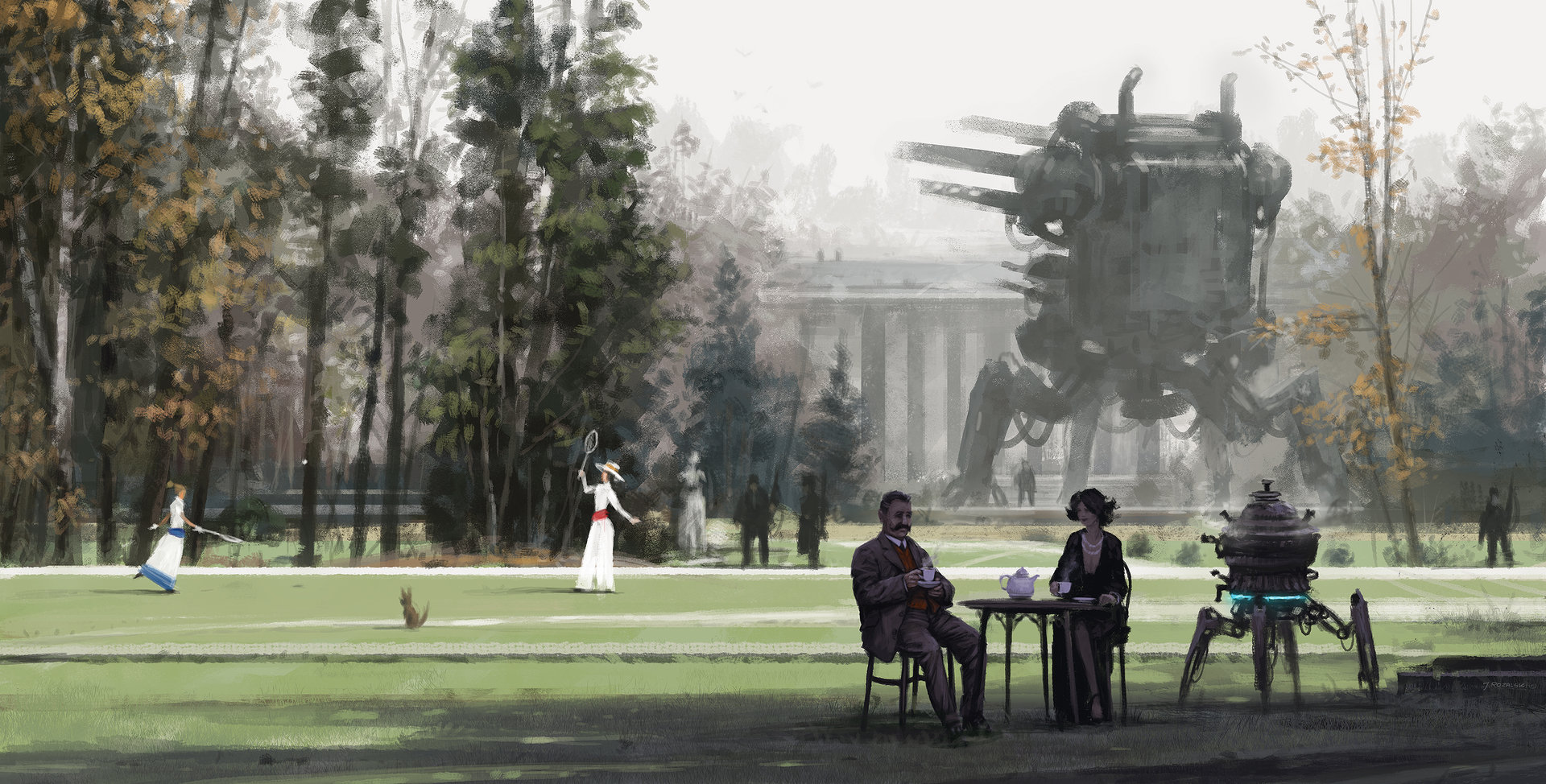 Jakub rozalski despised warmongers
