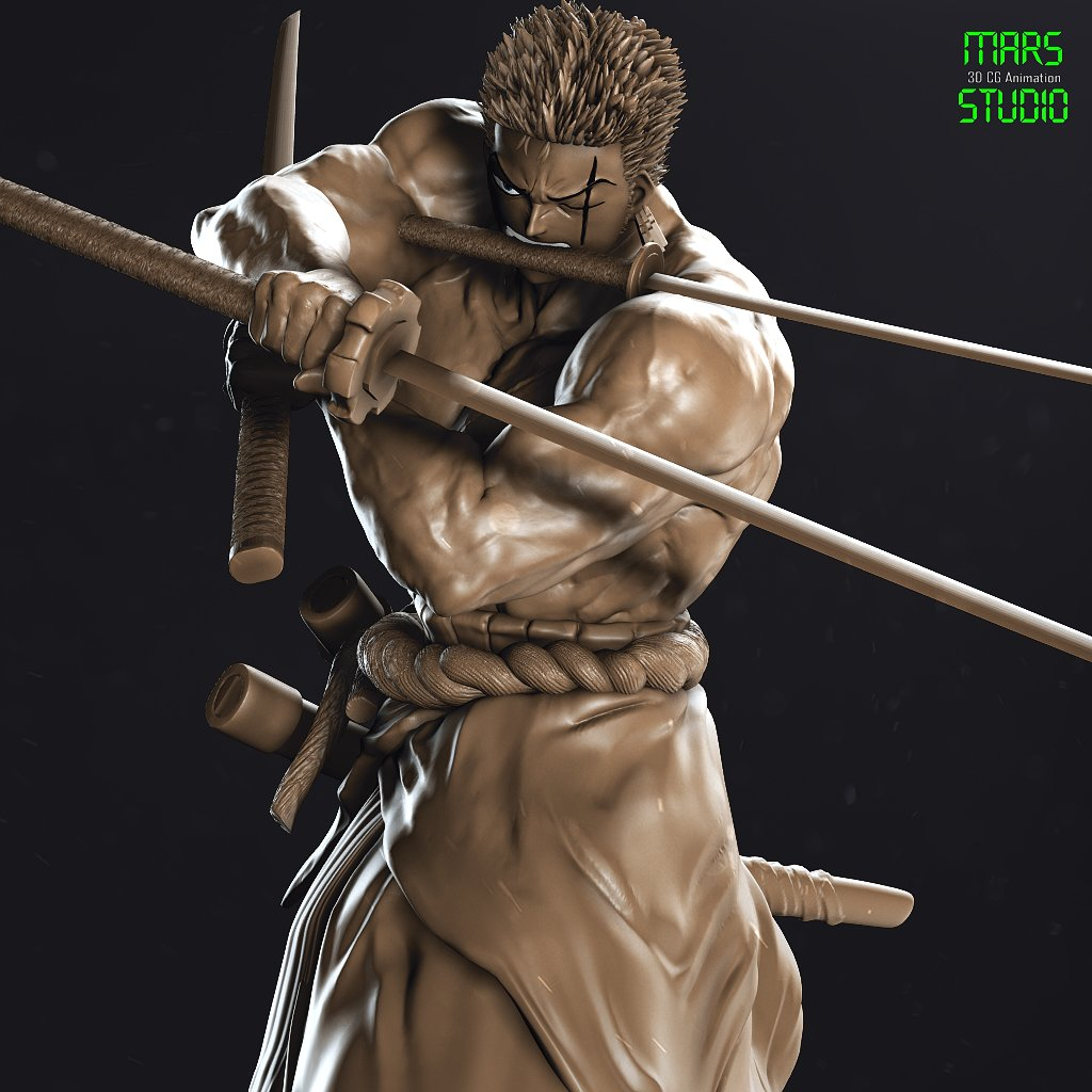 Zoro_OnePiece (muscle Ver.)
