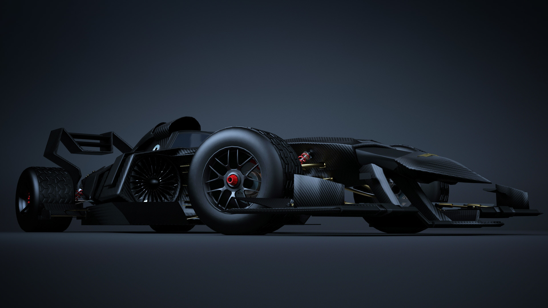 Chris Knight  Batmobile F1 Concept