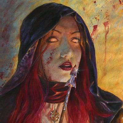 Francesca baerald demon hunter by francescabaerald d4xusye