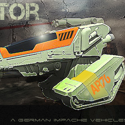 German impache cover art raptor 1