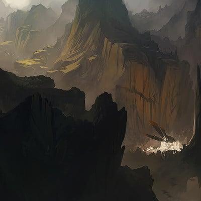 Bastien grivet environment painting tuto bastiengrivet