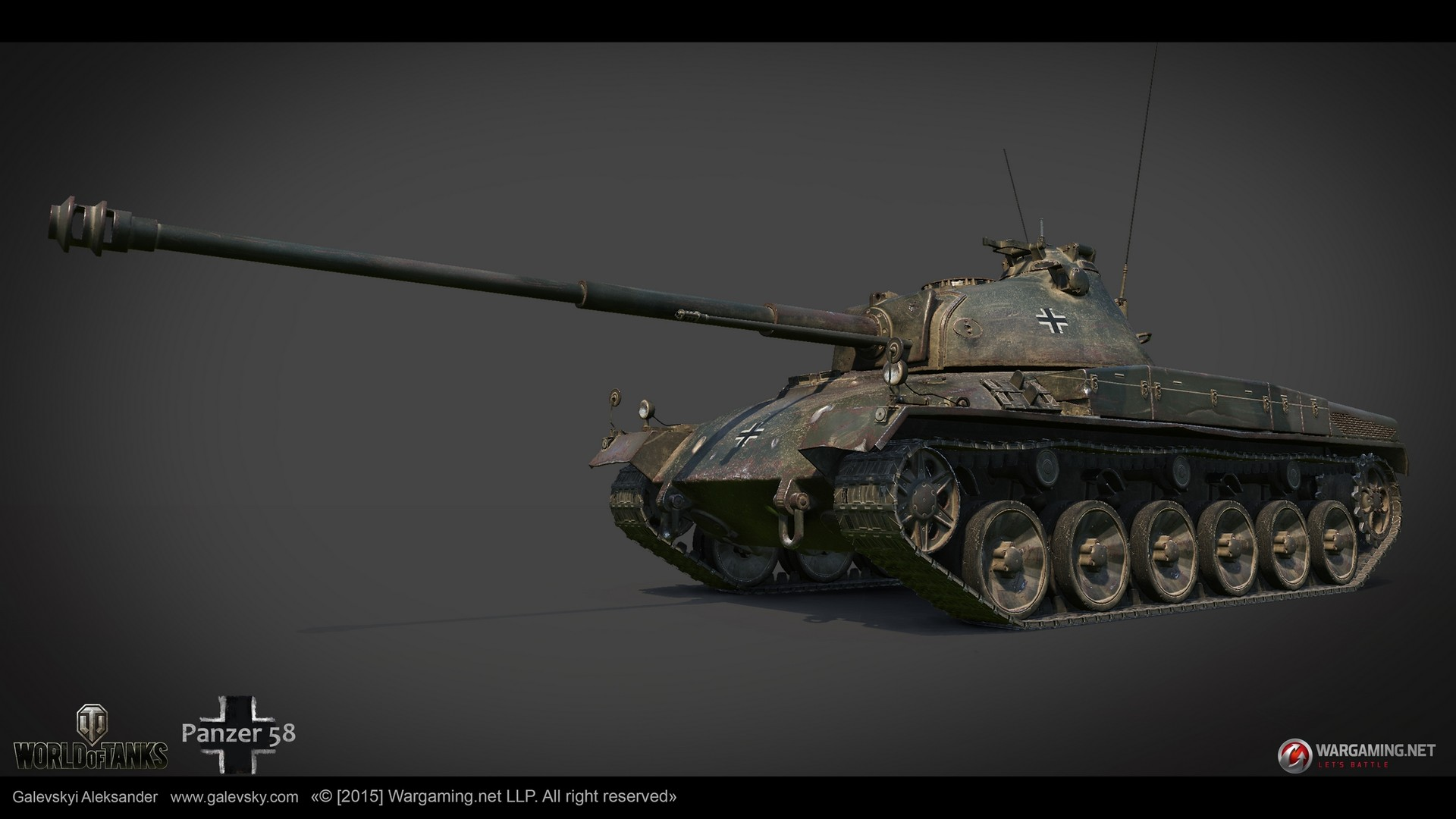 Aleksander galevskyi panzer 58 01 med
