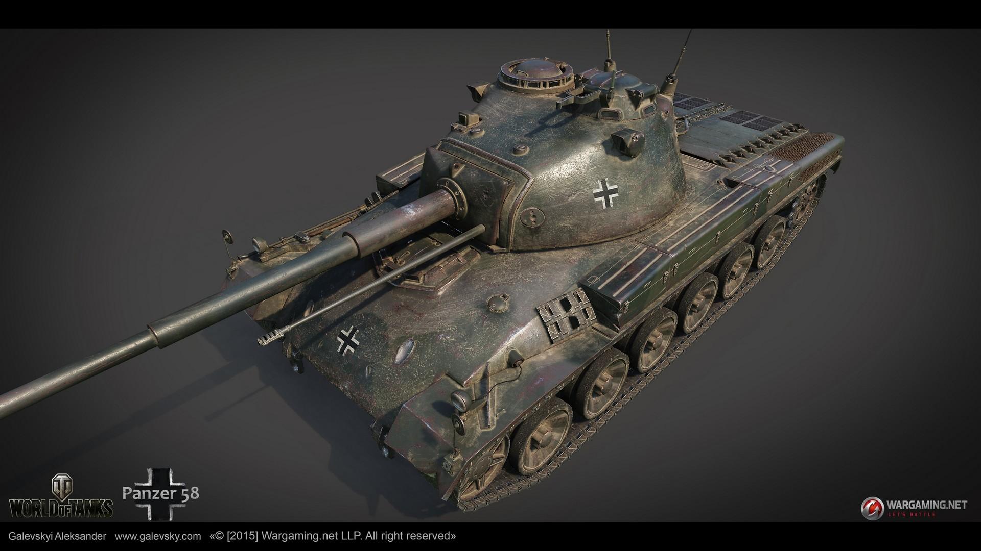 Aleksander galevskyi panzer 58 02 med