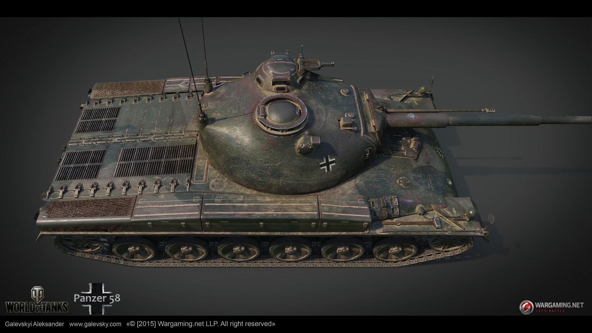 Aleksander galevskyi panzer 58 13 med