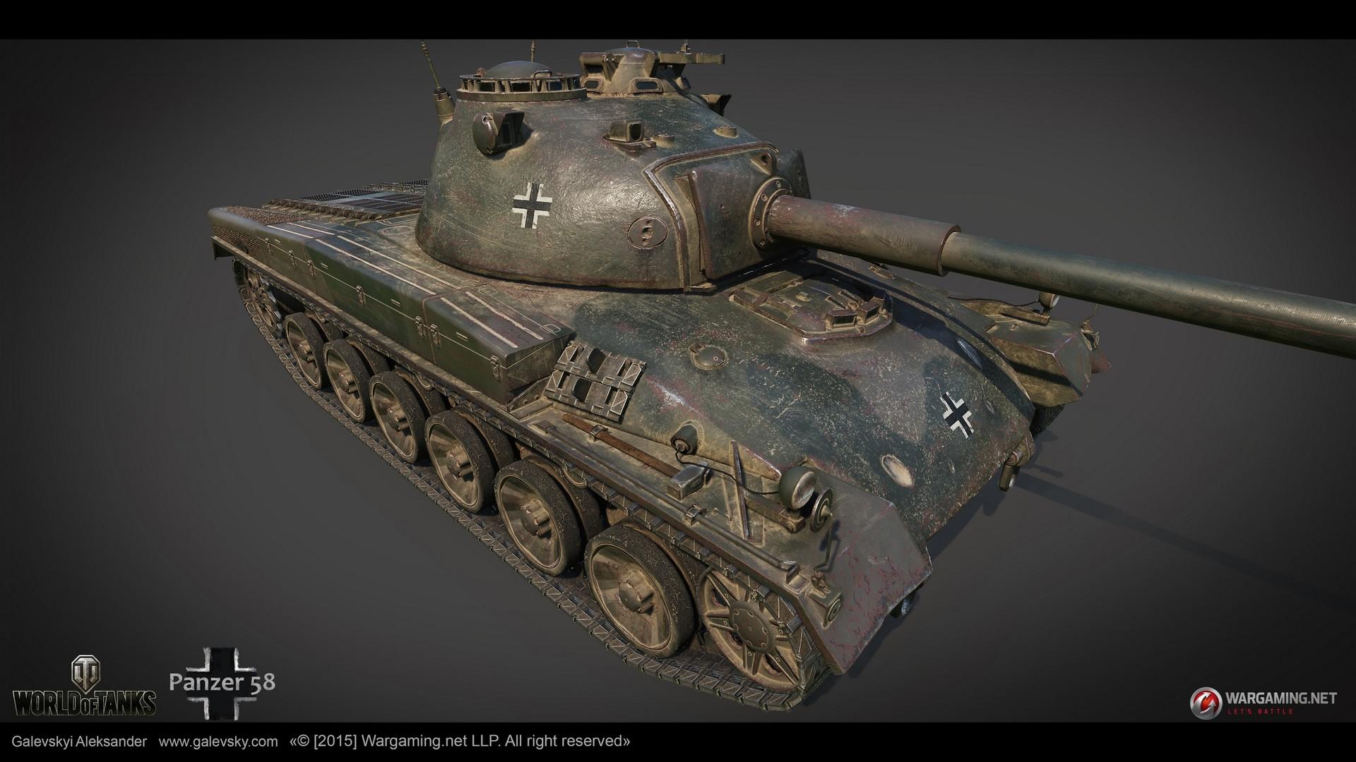 Aleksander galevskyi panzer 58 05 med