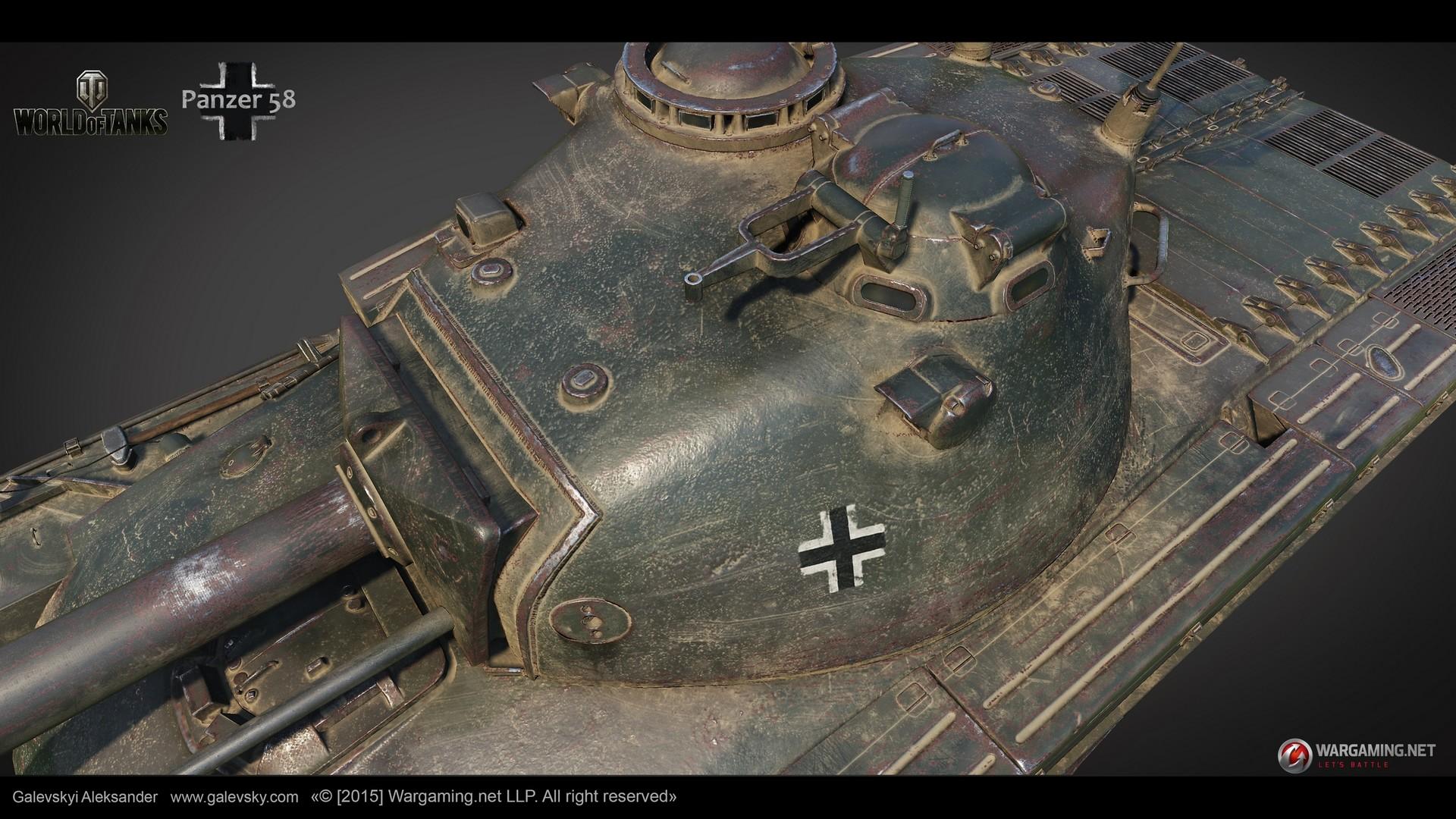 Aleksander galevskyi panzer 58 07 med