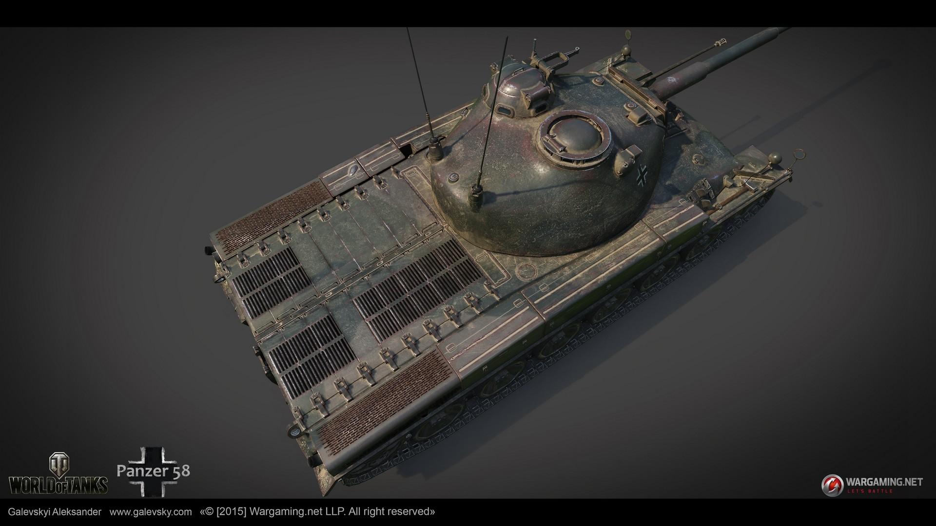 Aleksander galevskyi panzer 58 09 med