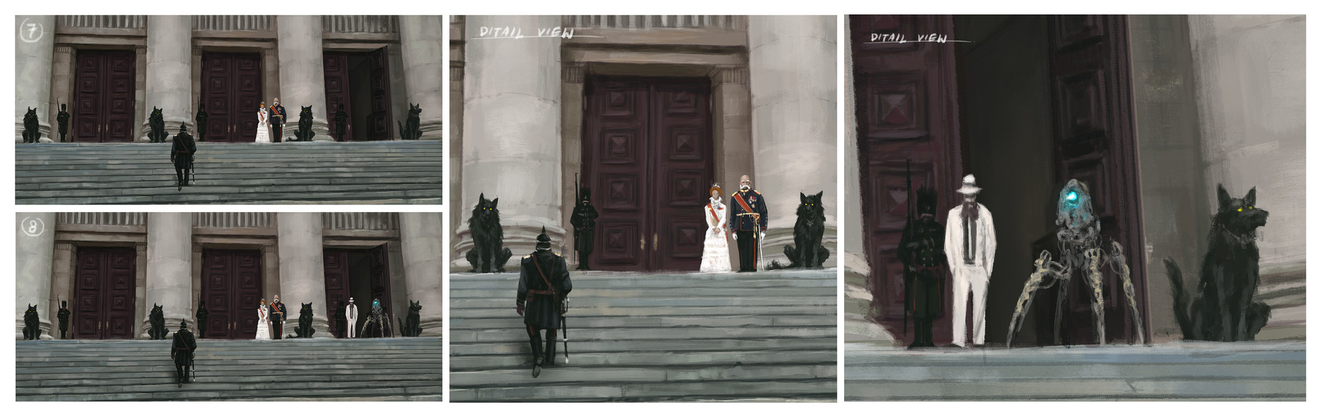 Jakub rozalski foundations of the empire process2