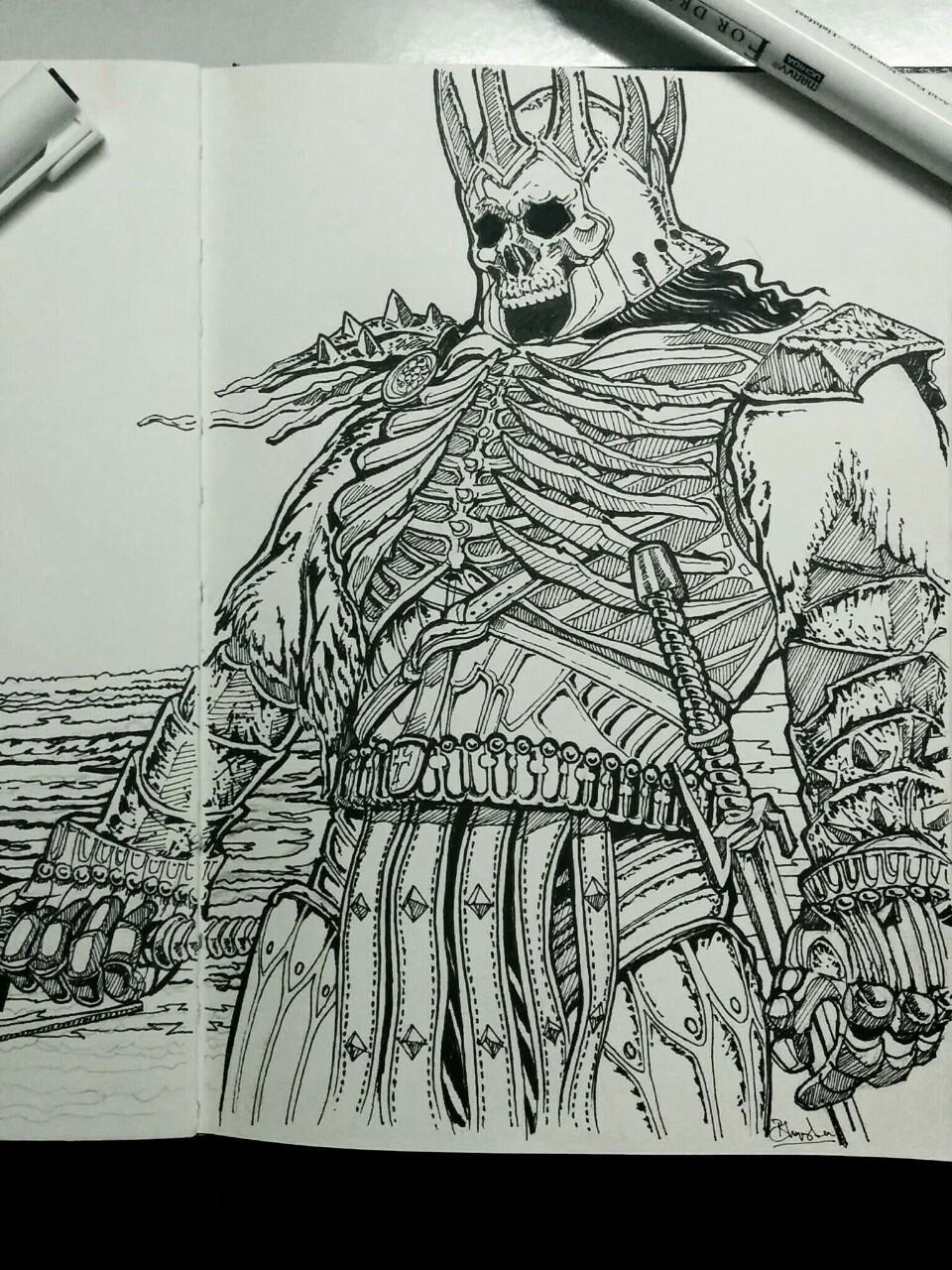 Eredin Sketch