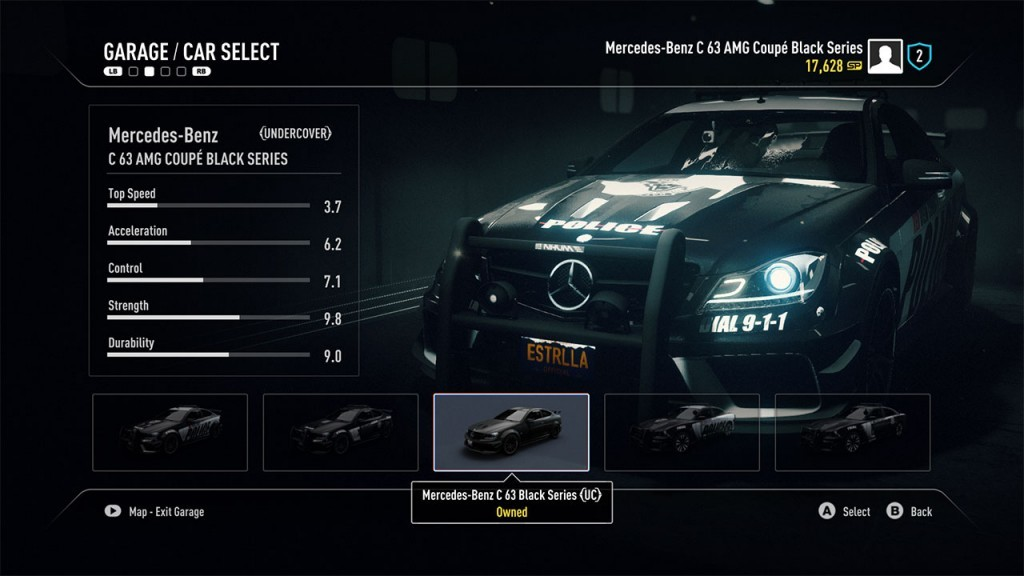 Car select.