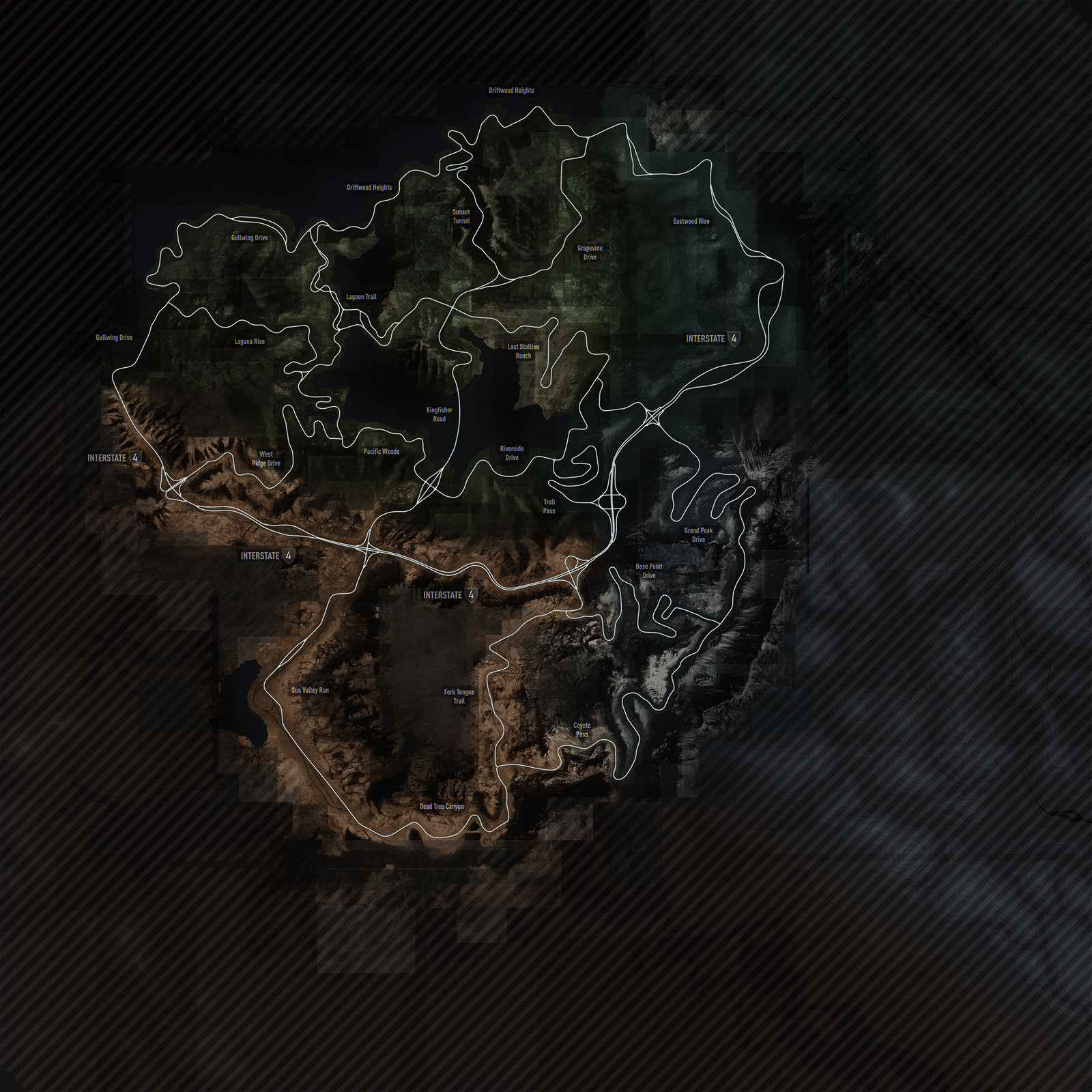 Full size map texture.