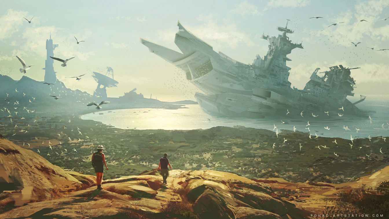 Wreck on Kapteyn