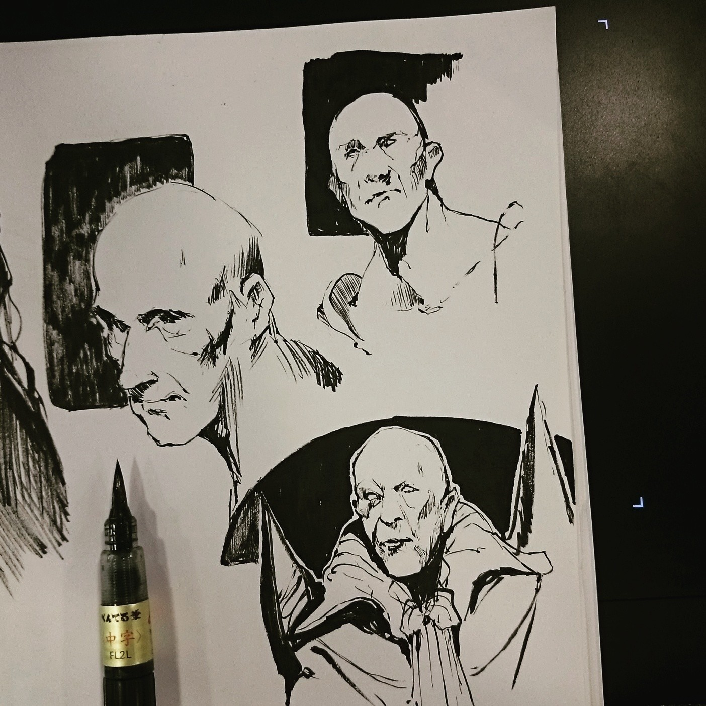 Ink Sketch 2