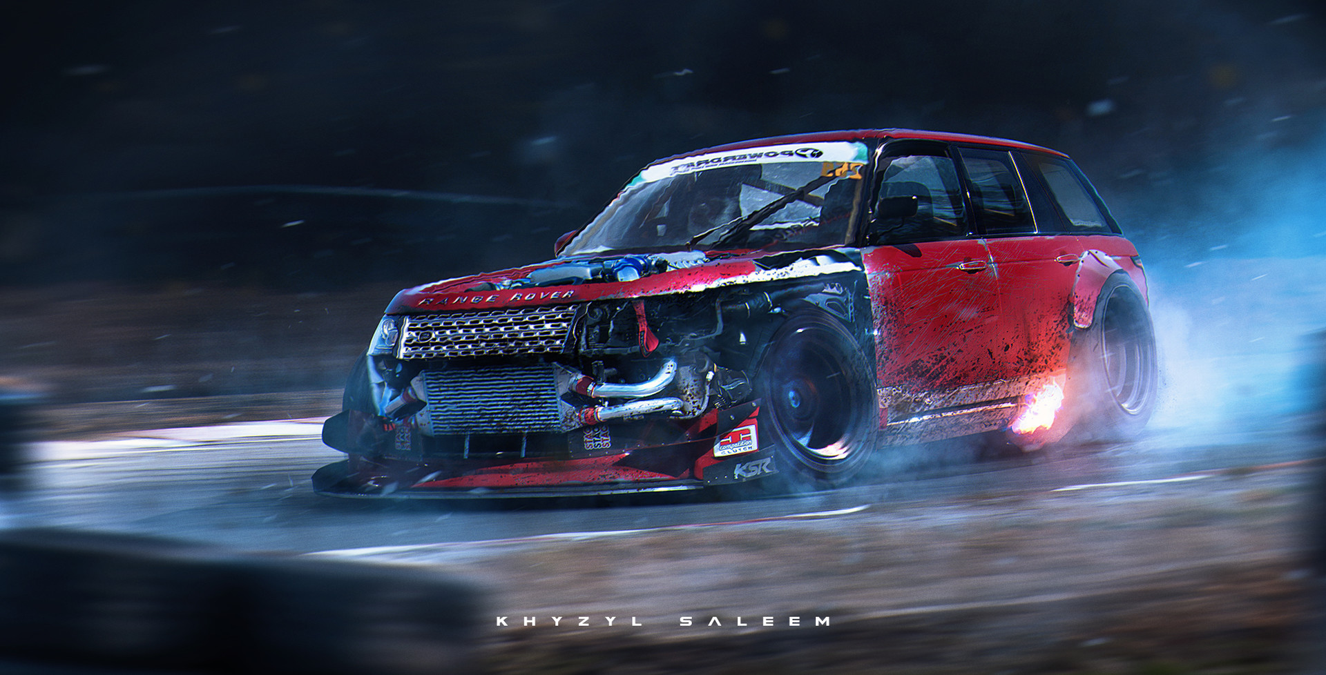 Khyzyl Saleem Range Rovers Like To Drift Too