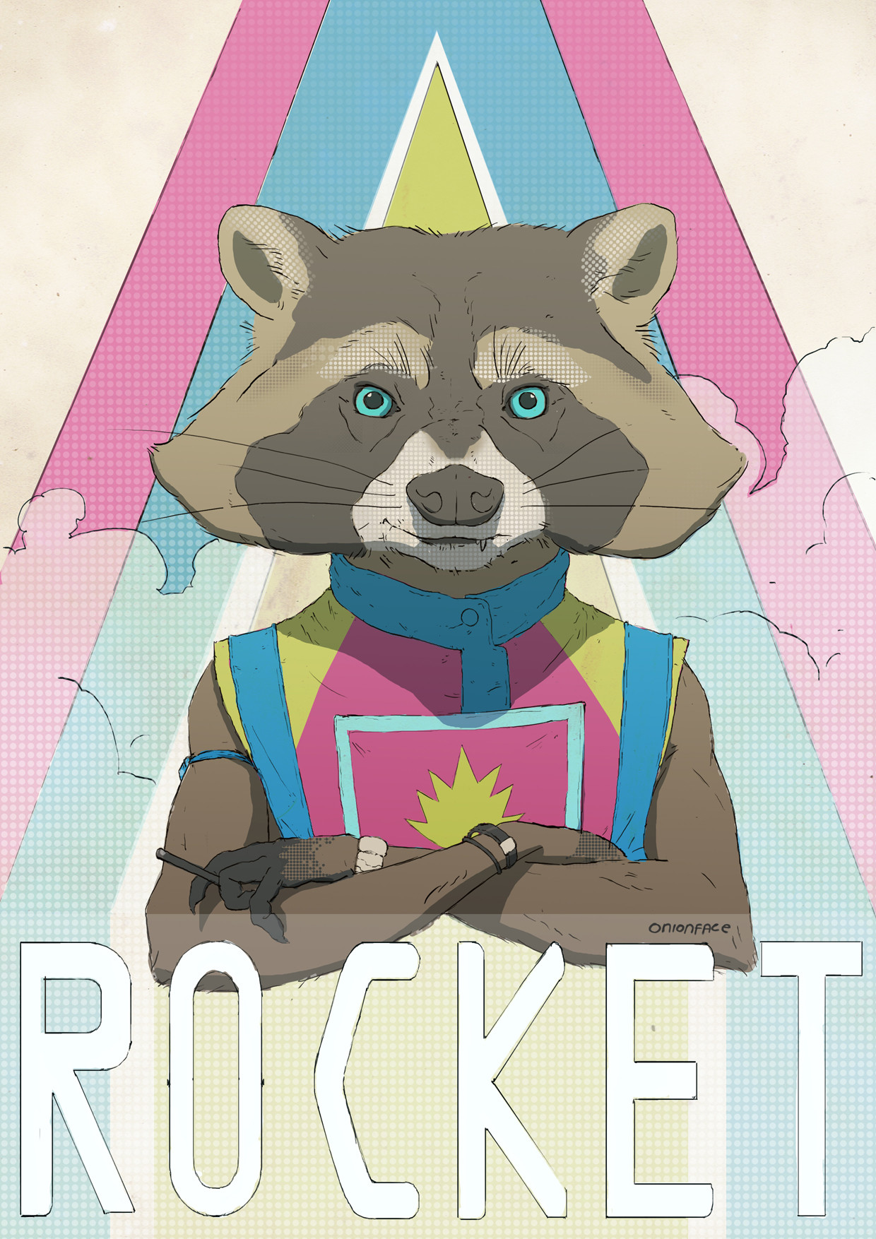 West clendinning rocket racoonb
