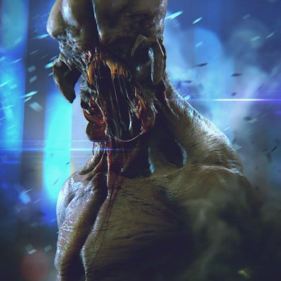 Soufiane idrassi monster render