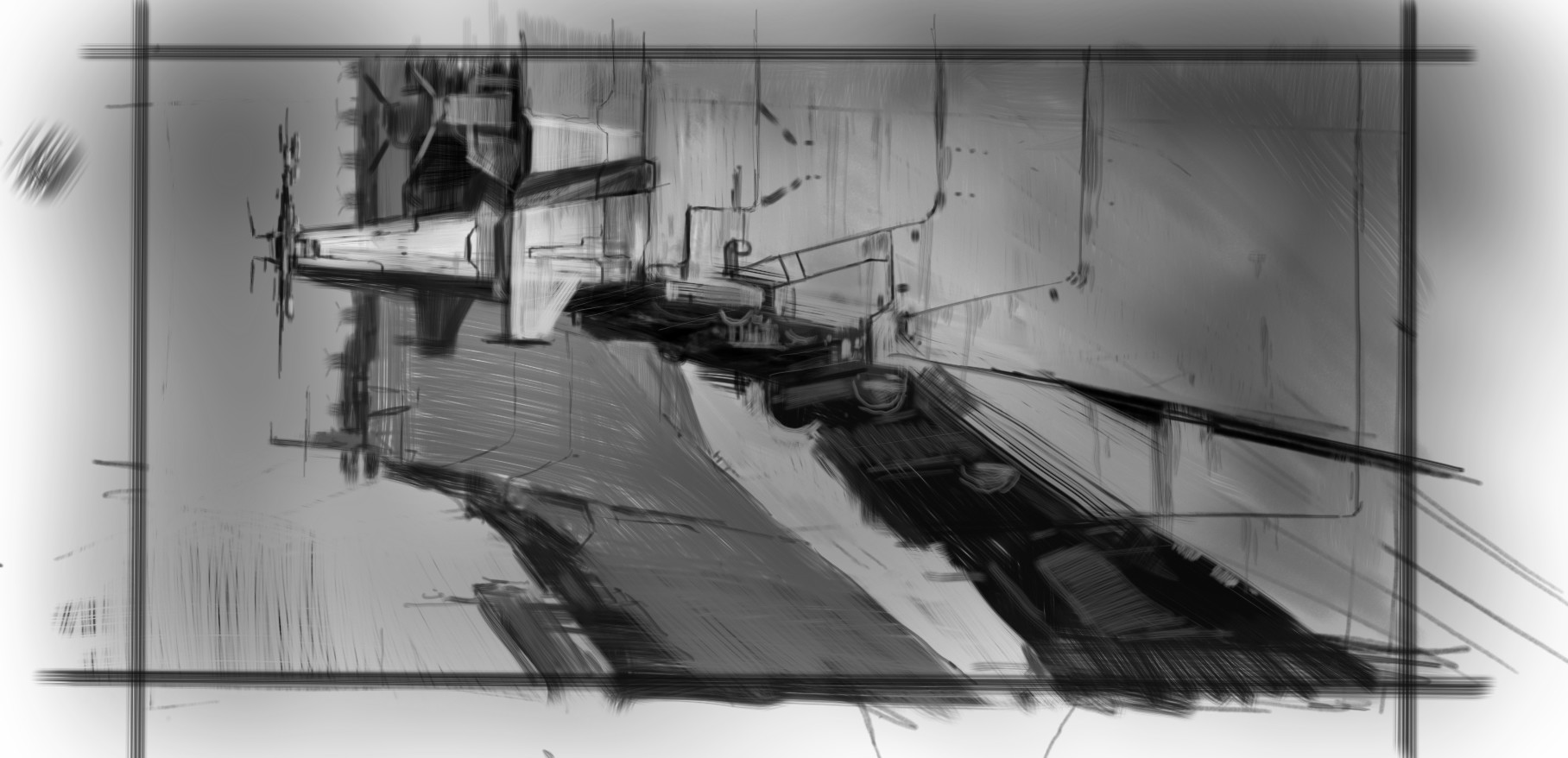 Martin deschambault project 77 korpa sketch