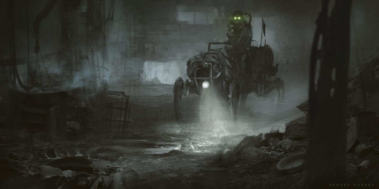 Sergey vasnev dog robot1