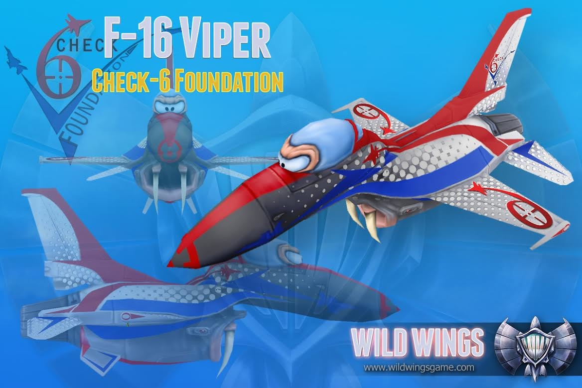 "F-16 Wildwings ""CHeck-6"" Edition"