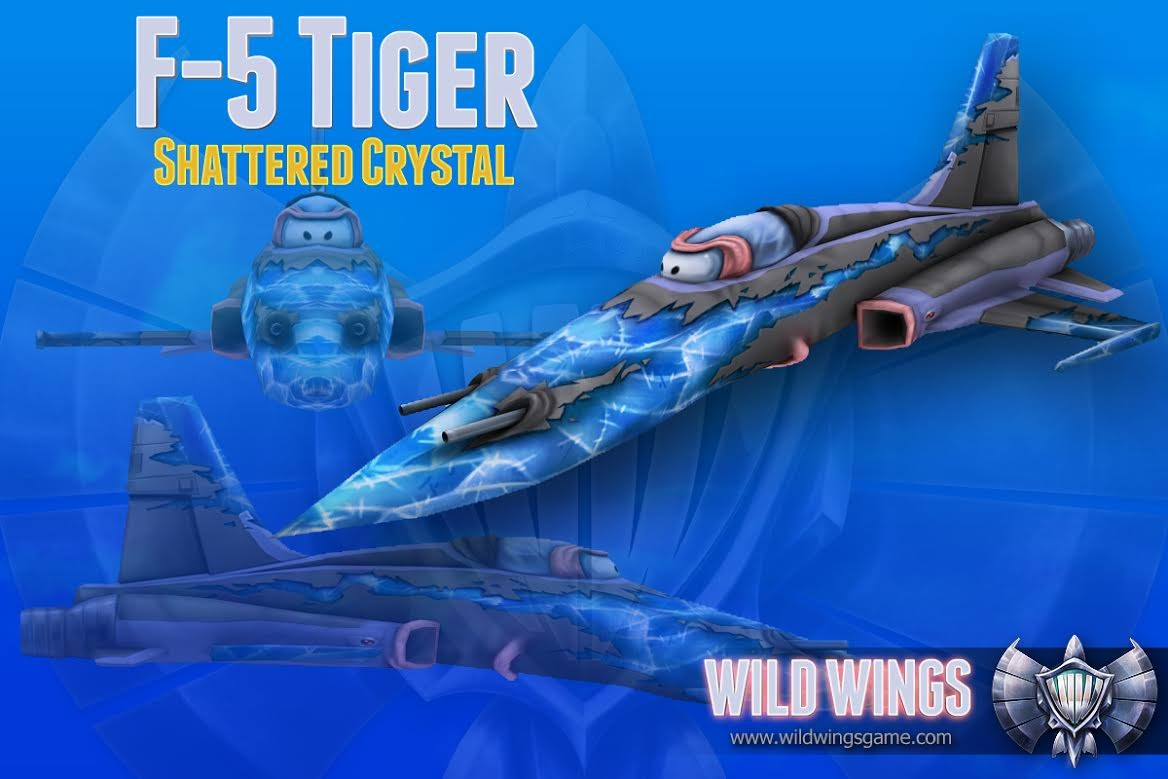 "F-5 Wildwings ""Shattered Crystal"" edition"
