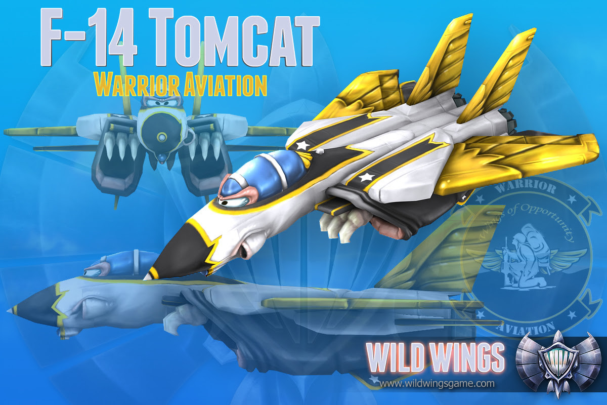 "F-14 Wildwings ""Warrior Aviation ""edition"