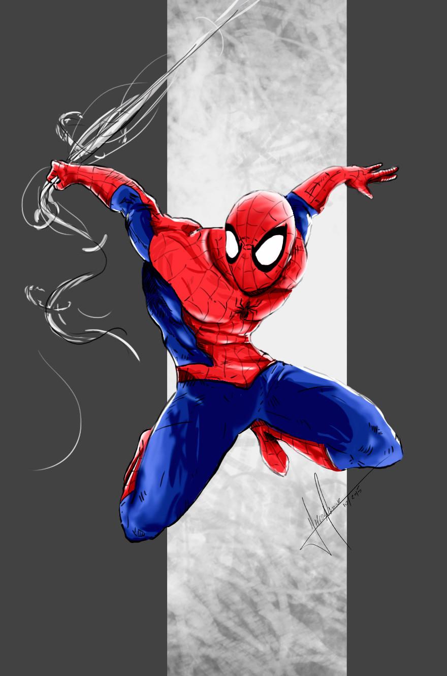 Marcos mansur spider color