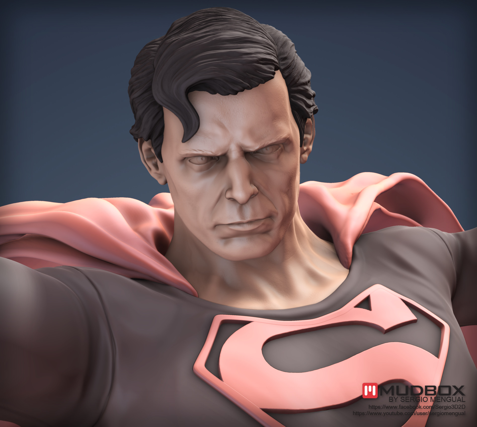 Sergio gabriel mengual superman face publish1