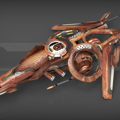 Igor puskaric drone v2 wood
