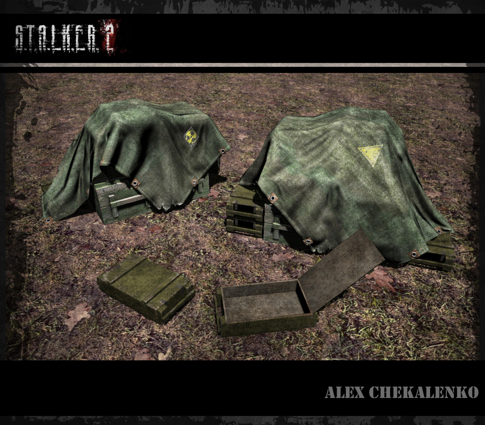 Alex chekalenko ammo crates