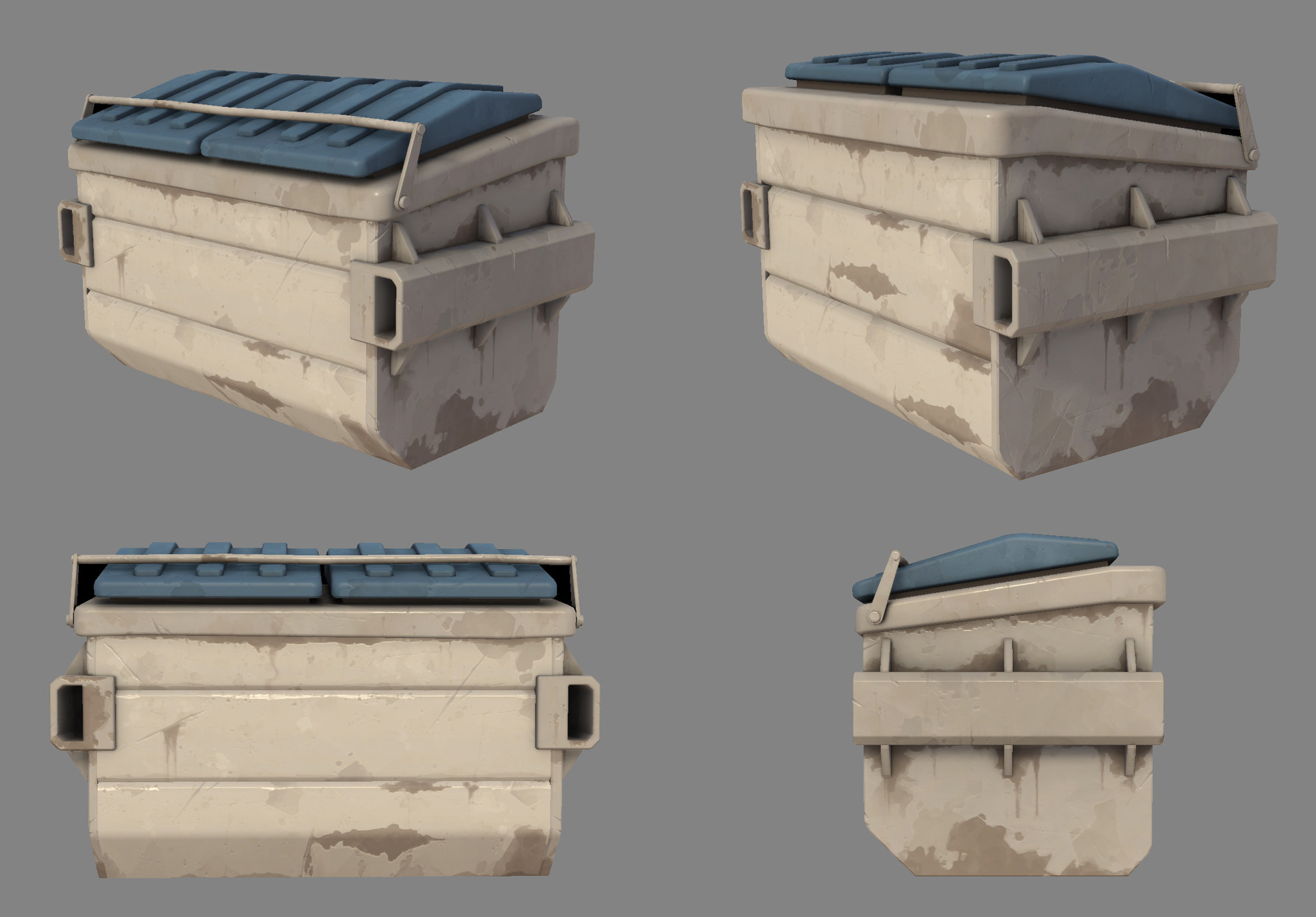 Tinko wiezorrek gibraltar dumpster