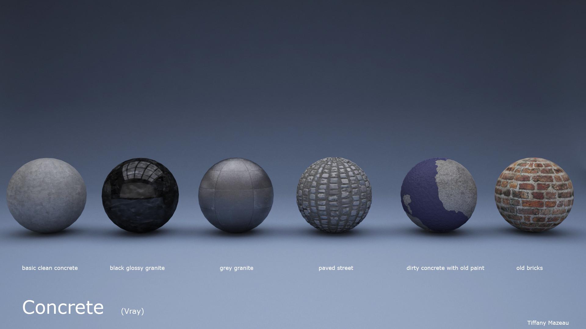 ArtStation - Vray Materials, Tiffany Mazeau