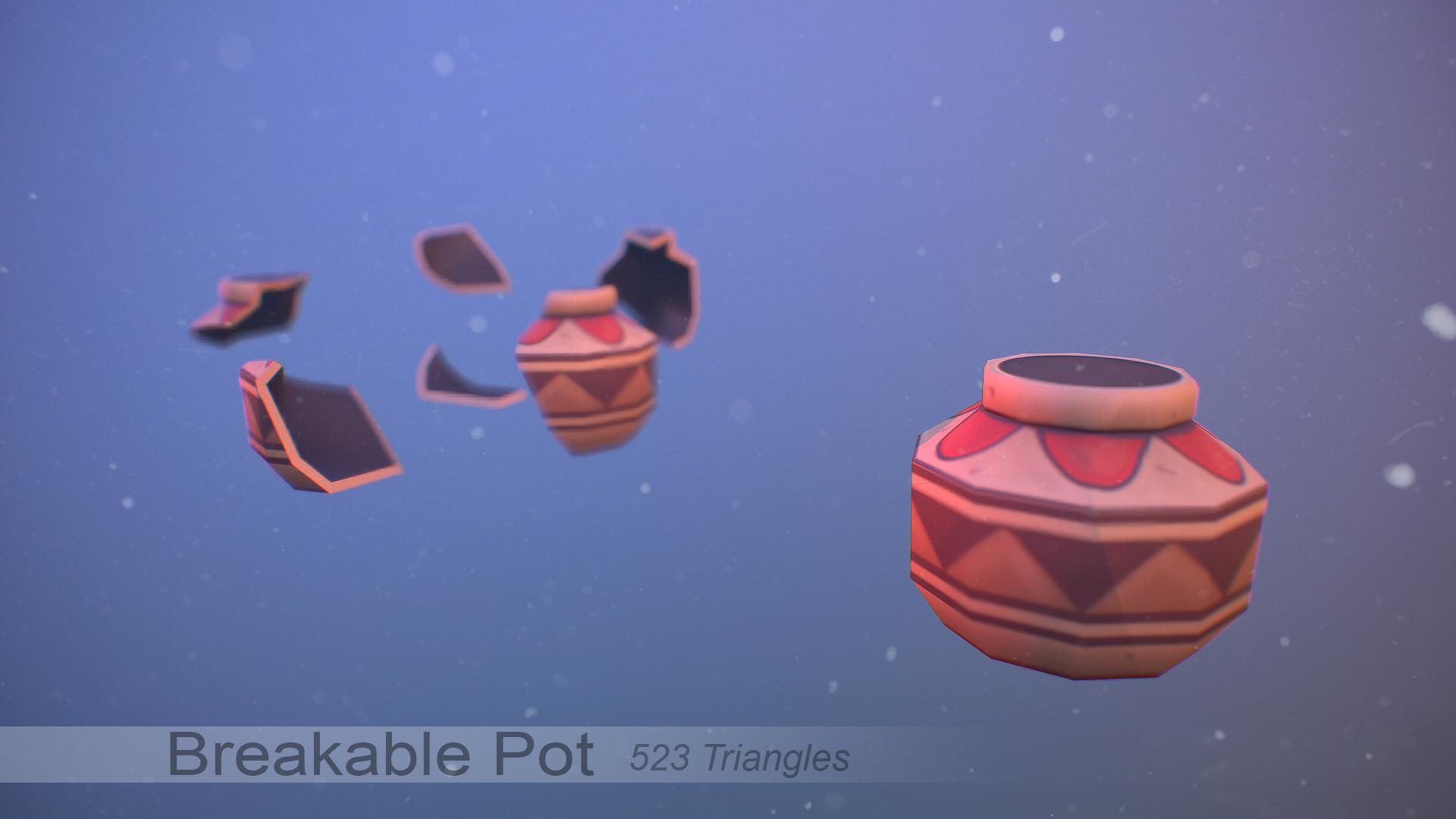 Denis matei breakable pot