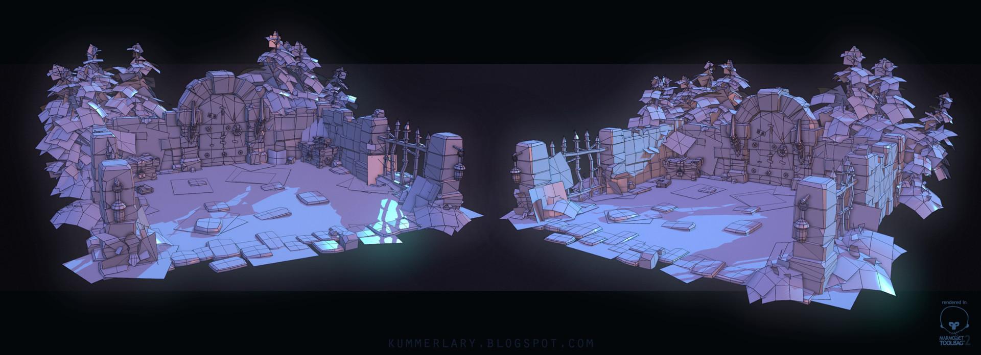 Lary kummer dungeon scene technicalshot 01