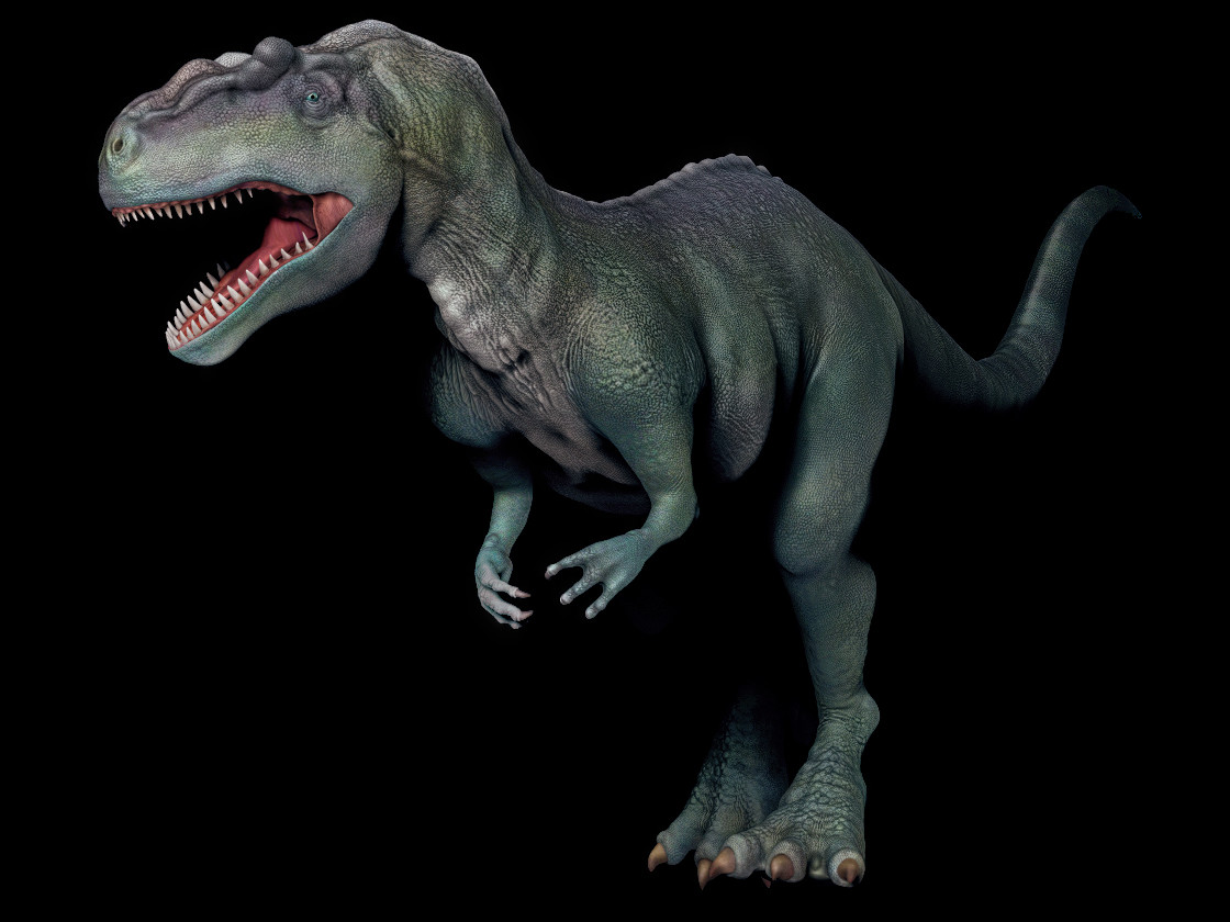 Marco baccioli zbrush allosaurus preview