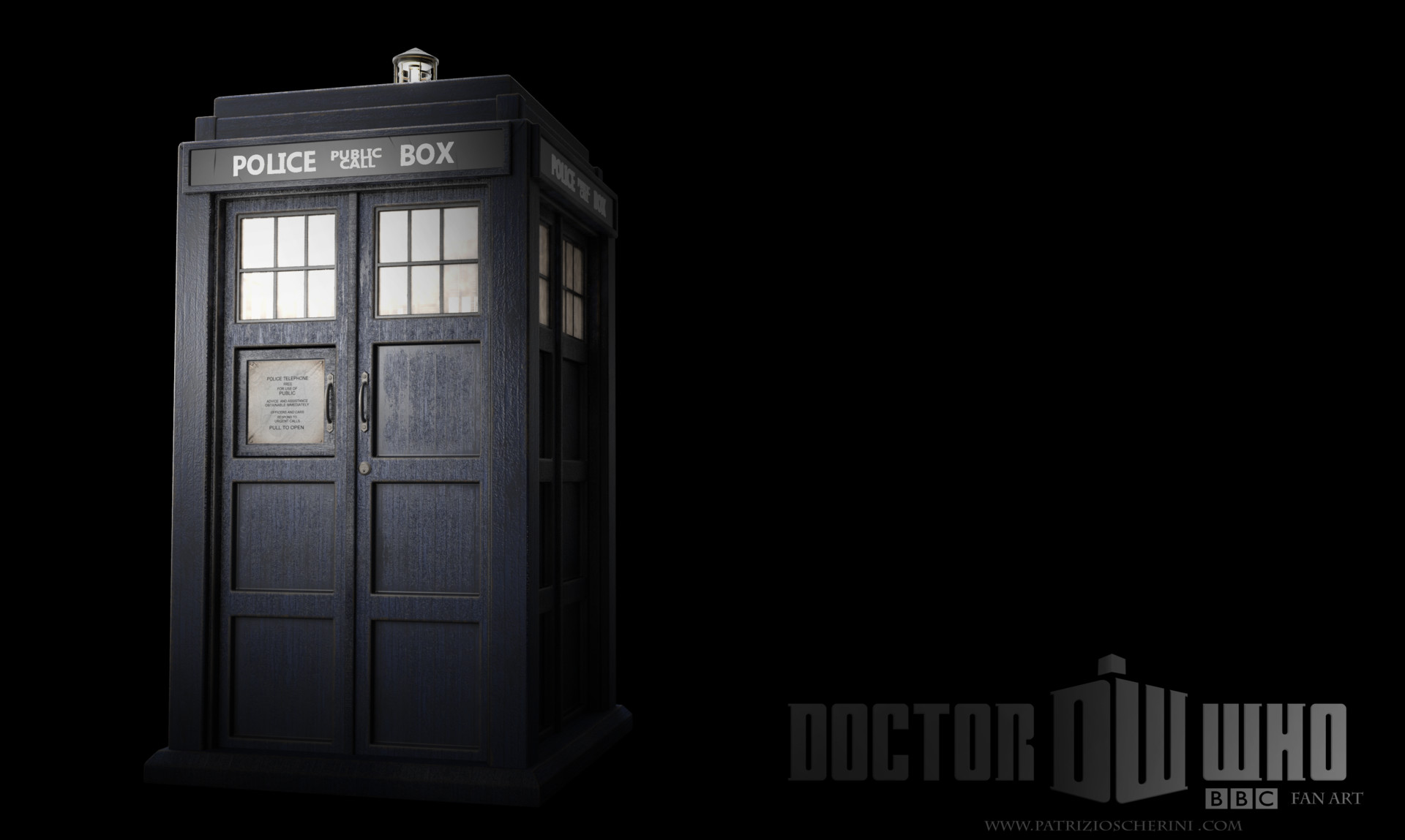Patrizio scherini tardis basic ed patrizio scherini fan art web